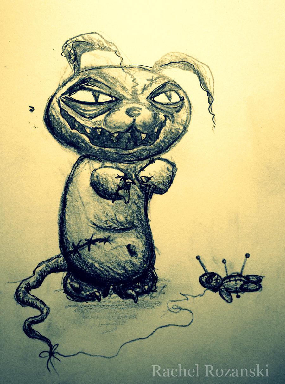 evil bunny sketch.... by RRfantasia on DeviantArt - photo#8