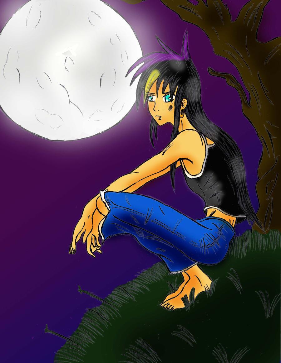 Kinsho and the Moon