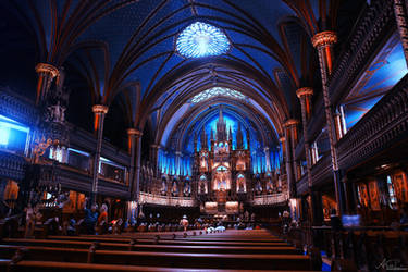 Notre-Dame Basilica by Alyss6