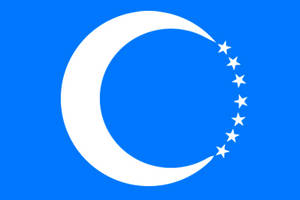 Turkic Union Flag 8 by Still-AteS