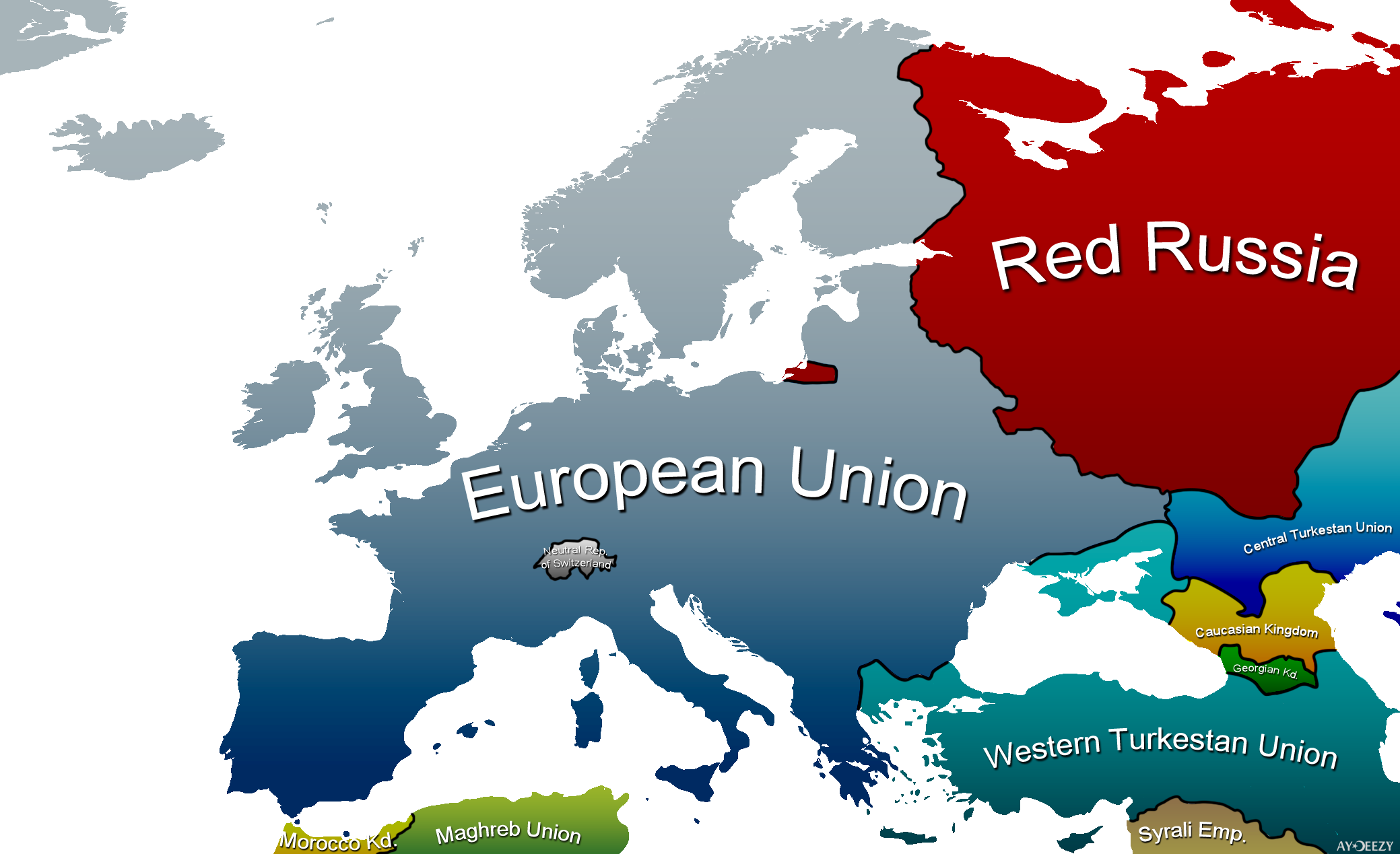 Future european map by still ates on deviantart future european map by still ates gumiabroncs Image collections