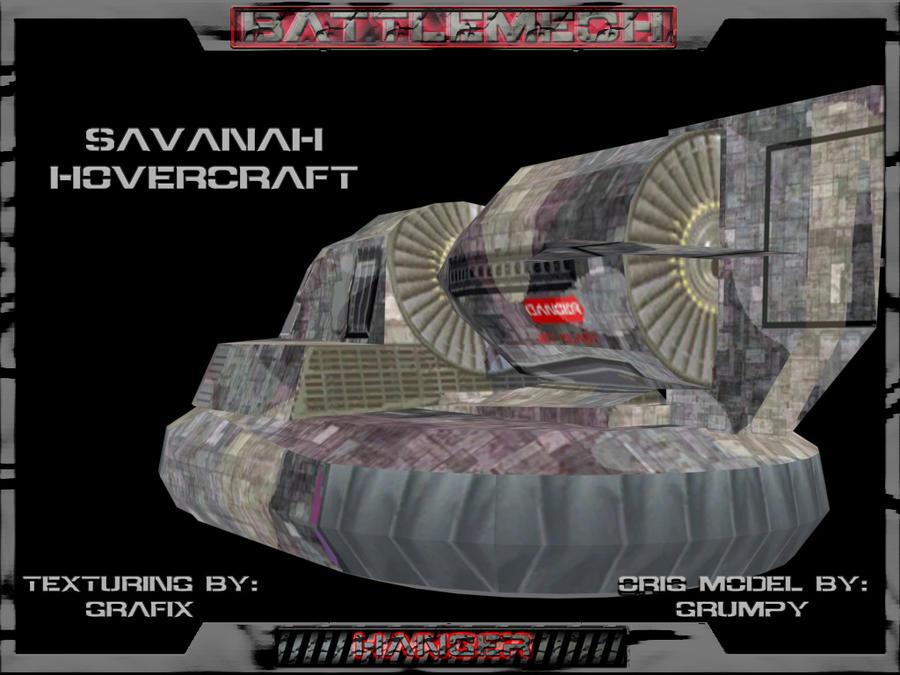 Savanah Hovercraft Pic 02 by Grafix71