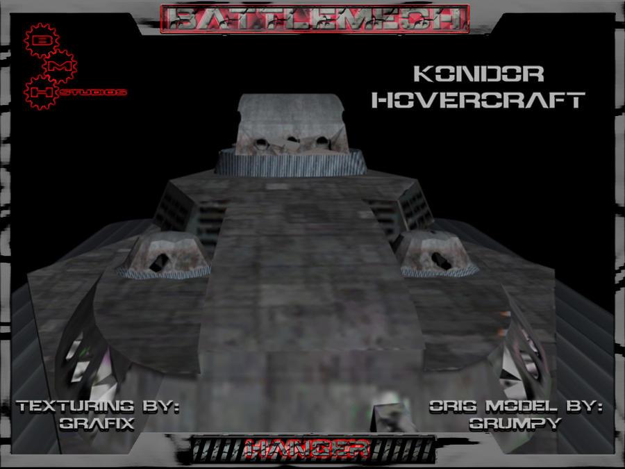 Kondor Attack Hovercraft Pic03 by Grafix71