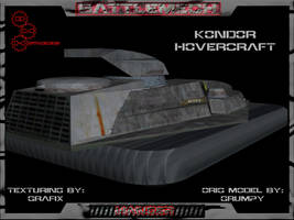 Kondor Attack Hovercraft Pic02 by Grafix71