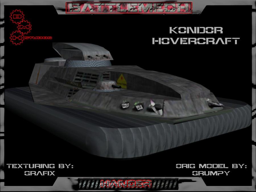 Kondor Attack Hovercraft Pic01 by Grafix71