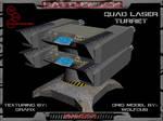 3D Quad Laser Turret Pic 02