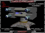 3D Quad Laser Turret Pic 01