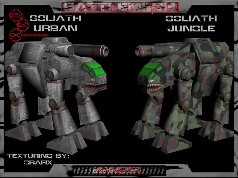 Goliath 3D Mech by Grafix71