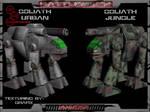 Goliath 3D Mech