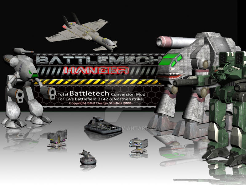 BattleMechHanger.Com Splash by Grafix71