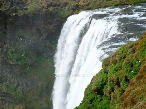 Keflavick Iceland Waterfall 2