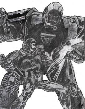 SC Iron Man Vs Iron Monger