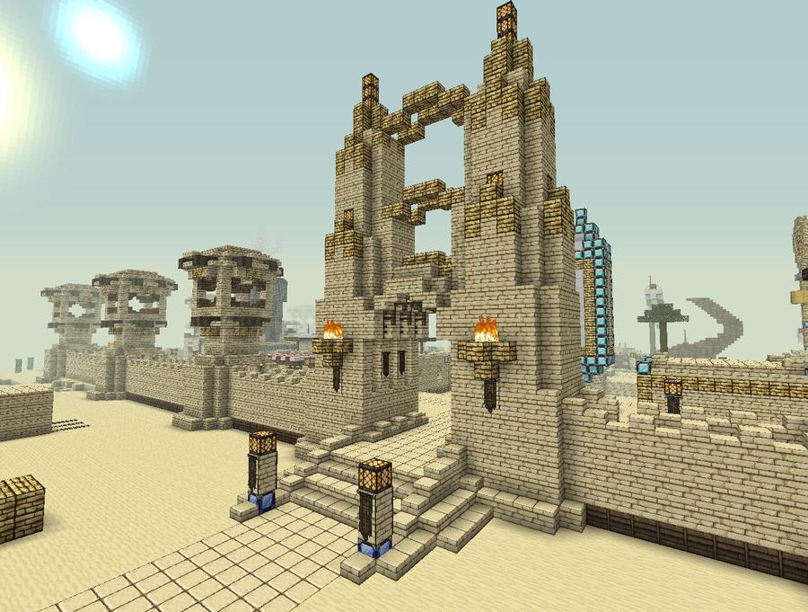 Minecraft roman villa niegelvonwolf deviantart pic 23