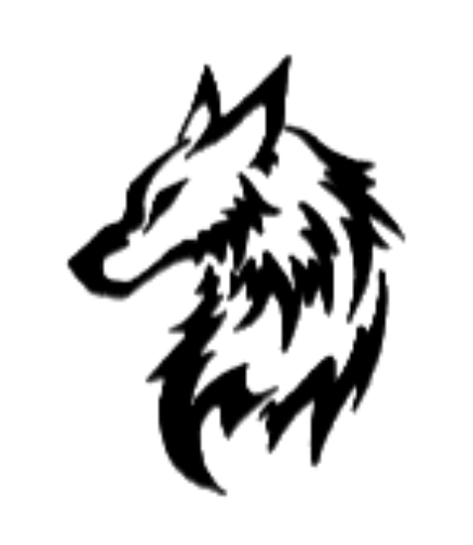 Simple wolf design - photo#12
