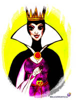 The Evil Queen of Snow White by BeliceMorticia89