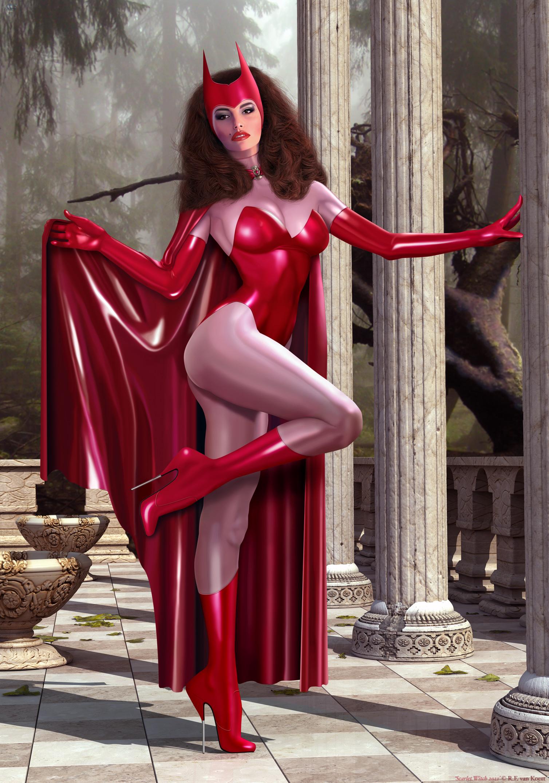 Scarlet Witch 2011 by Rick-4F