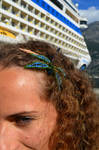 Dragonfly in my hair