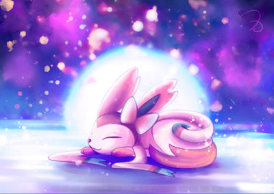 Sleeping Sylveon
