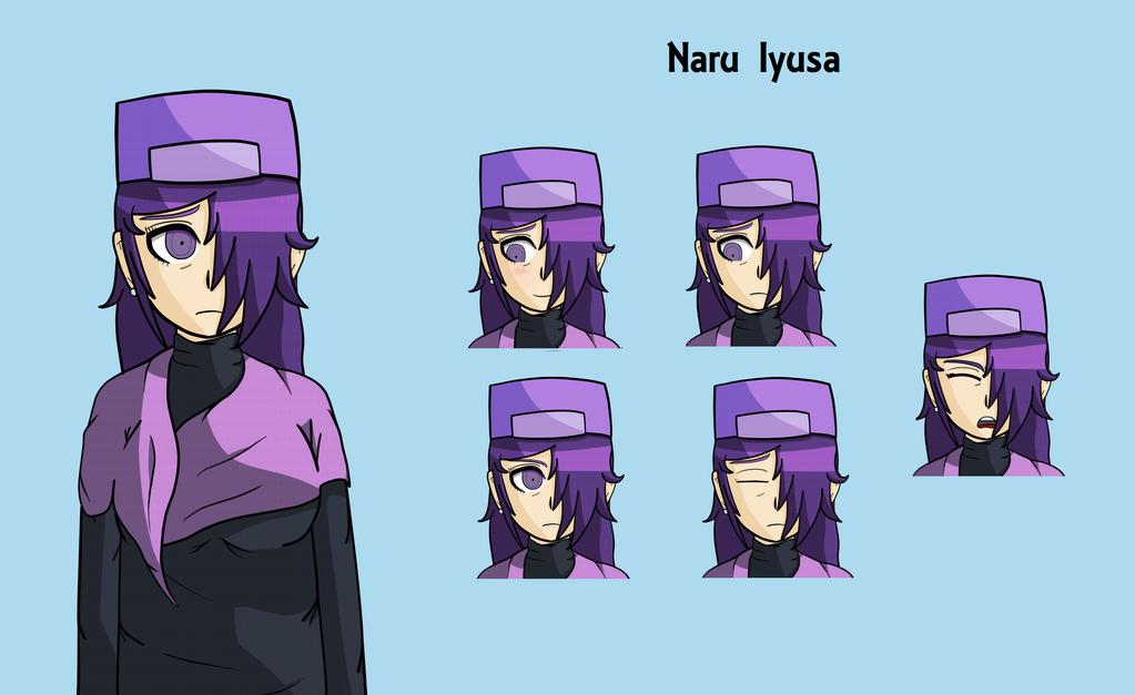 Naru Iyusa by smilewolfy