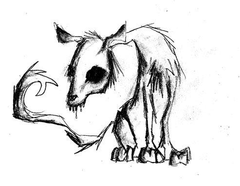 Creepy Dog By Deadxfish On DeviantArt