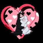 Lovey-dovey Alpacas