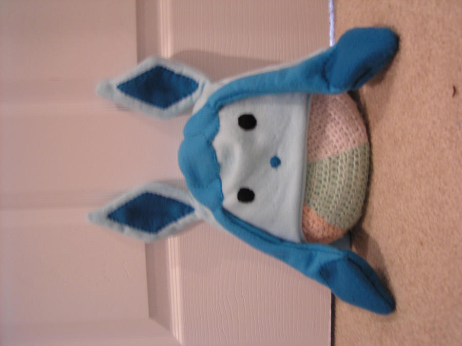 glaceon fleece hat by - photo #26