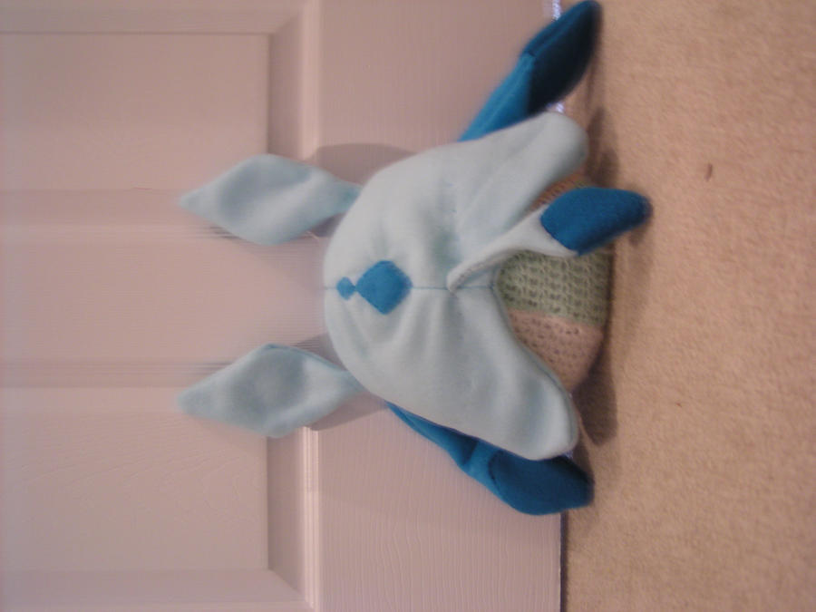 glaceon fleece hat by - photo #28