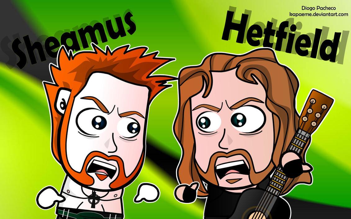Sheamus meets James Hetfield