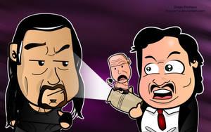 Undertaker and Paul Bearer by kapaeme