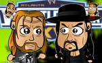 Triple H and Taker Wallpaper