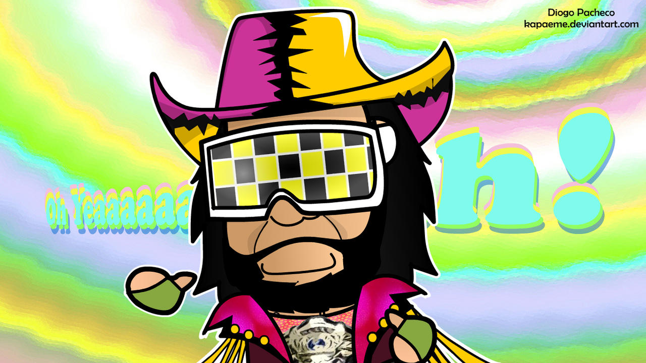 Chibi Macho Man Randy Savage by kapaeme