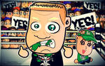 Brock Lesnar and John Cena Wallpaper
