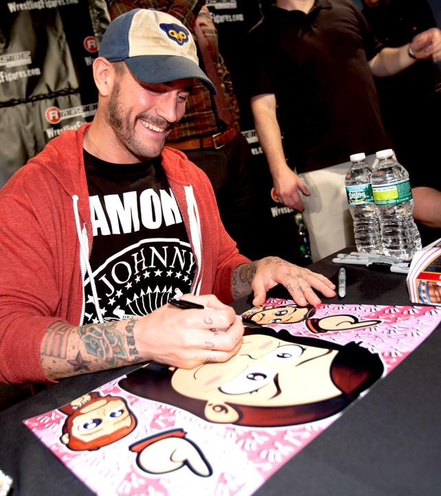 CM Punk - Chibi Surprise Photo! by kapaeme