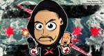 CM Punk Best in the World Chibi Wallpaper