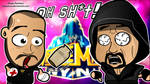 CM Punk x The Undertaker - WWE Chibi Wallpaper