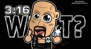 Stone Cold Steve Austin -  WWE Chibi Wallpaper