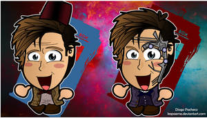 Doctor Who - Mr Clever Chibi Wallpaper