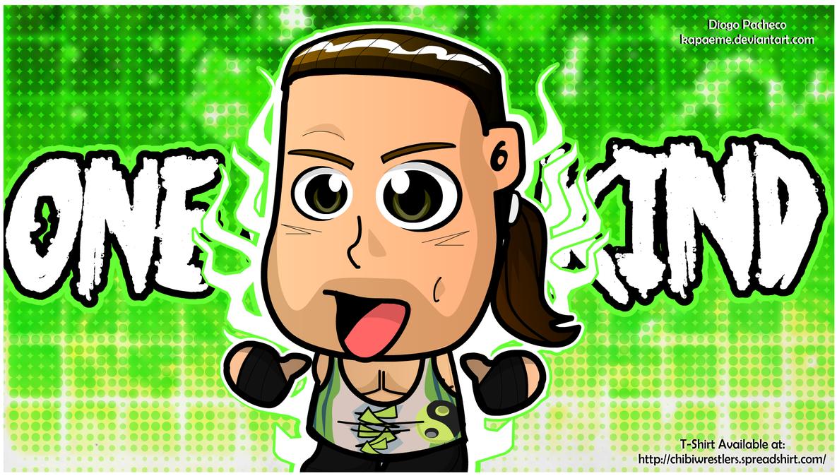 Rob Van Dam RVD - WWE Chibi Wallpaper by kapaeme