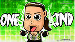 Rob Van Dam RVD - WWE Chibi Wallpaper