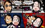 AJ Lee and Paige - WWE Chibi Comic Strip