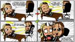 Seth Rollins and Dean Ambrose - WWE Comic Strip 07