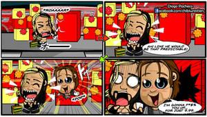 Seth Rollins and Dean Ambrose - WWE Comic Strip 08 by kapaeme