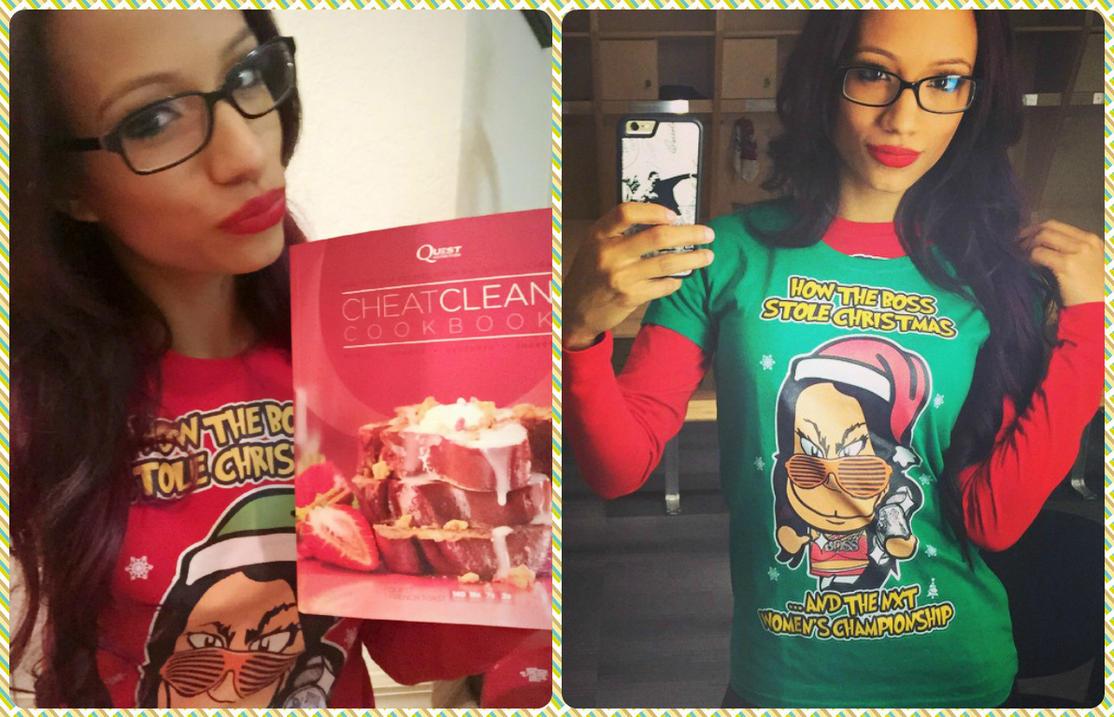 Sasha Banks - Chibi Wrestlers Christmas Surprise! by kapaeme