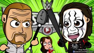 Triple H vs Sting - WrestleMania Chibi Wallpaper by kapaeme