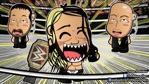 Seth Rollins WWE Chibi Wallpaper by kapaeme