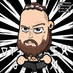 Aleister Black NXT Chibi