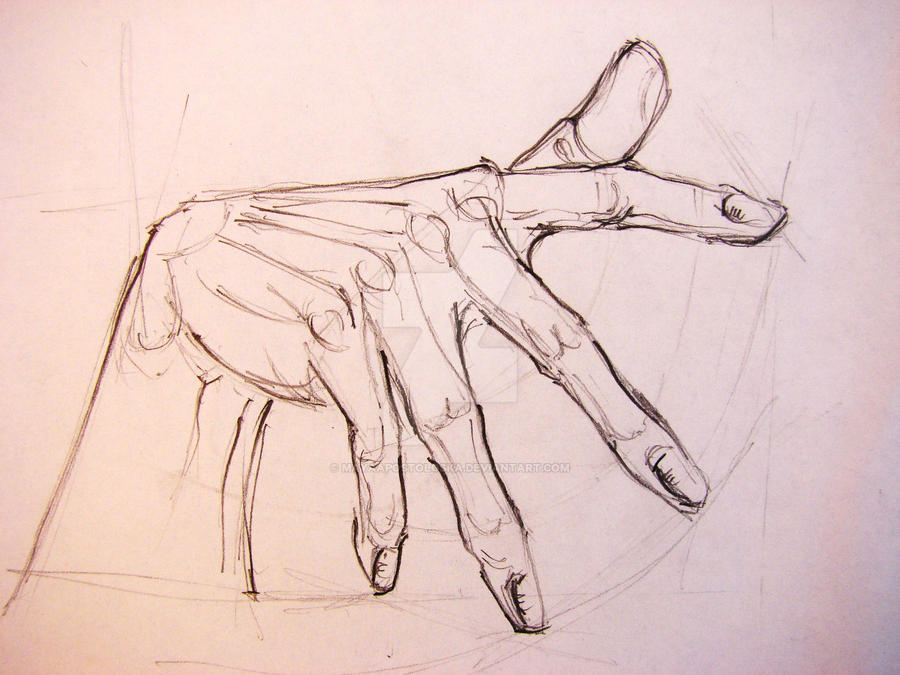 study of hand by MayaApostoloska