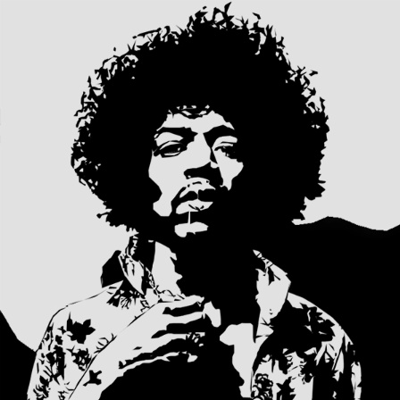 Jimi Hendrix By Photo4me