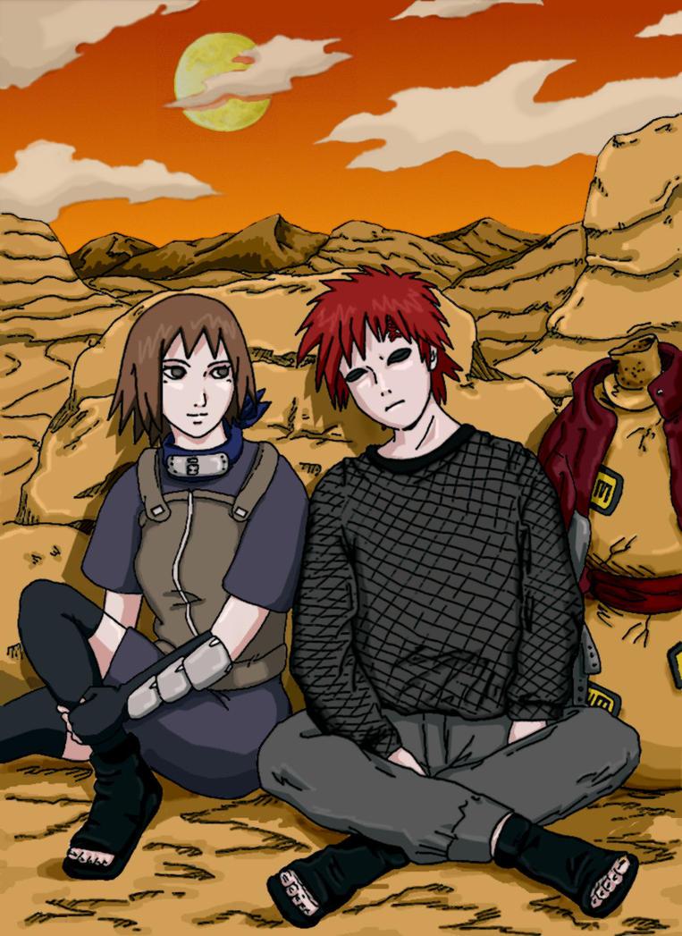Gaara and Matsuri favourites by xNarutoxHinatax on DeviantArt |Naruto Matsuri And Gaara