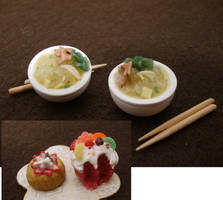 Pho Bowl Desserts by WoundedEros69